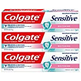 Colgate Sensitive Maximum Strength Whitening Toothpaste - 6 ounce (3 Pack)