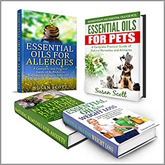 Essential Oils Box Set Natural Remedies For Anxiety
