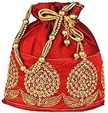 #6: Bombay Haat Women'S Potli (Mehrun , Dark Red,Bp0006)