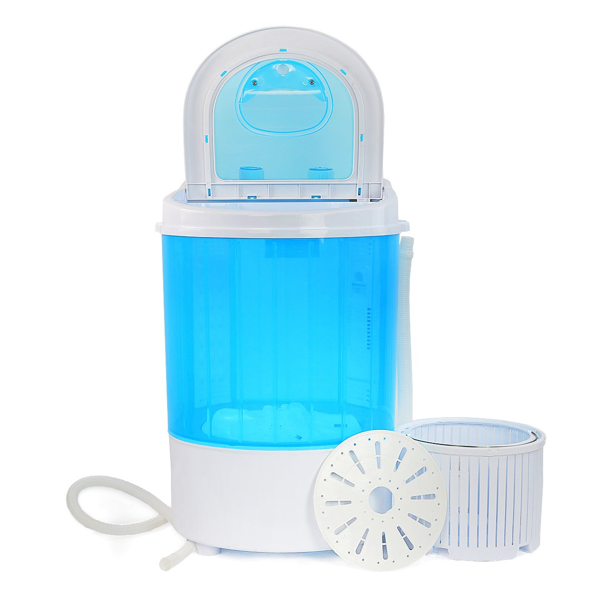 Portable Washing Machine with Spin Dry Basket 6.6lbs Capacity Mini Washer