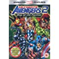 Ultimate Avengers 2 - Rise Of The Panther [DVD]