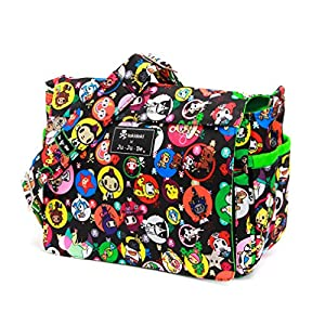 Bundle -3 Items:Ju-Ju-Be Better Be Messenger Diaper Bag -Tokidoki Bubble Trouble & Bella B Honey Bum 2 oz & Bella B Babywipes 50 count by Ju-Ju-Be + Bella B