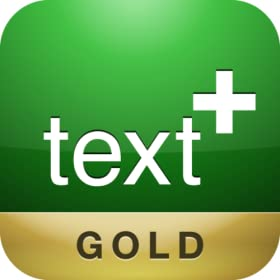 textPlus GOLD Free Texting for Kindle Fire/Fire HD & Android Phones, Tablets