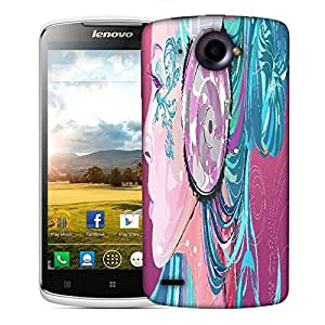 Snoogg beautiful side portrait 2753 Designer Protective Back Case Cover For Lenovo S920