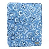 JAVOedge Bandana 360 Rotating Smart Cover Case with Stand for Apple iPad 2 (Blue)
