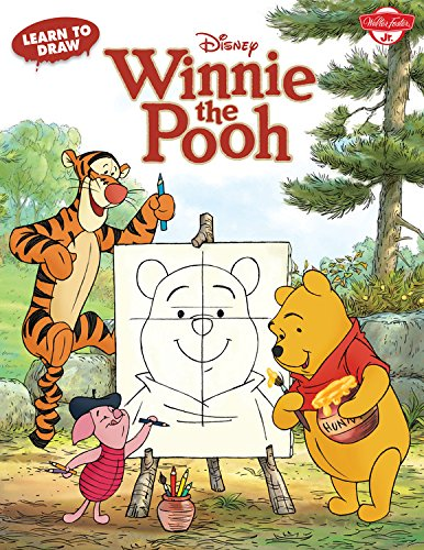 Learn to Draw Disney's Winnie the Pooh: Featuring Tigger, Eeyore, Piglet, and other favorite characters of the Hundred Acre Wood! (Licensed Learn to Draw) (How To Draw Winnie The Pooh compare prices)