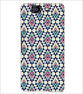 PrintDhaba Diamond Pattern D-5391 Back Case Cover for MICROMAX A350 CANVAS KNIGHT (Multi-Coloured)