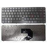 Replacement Compatible Spanish Keyboard HP Pavilion G4-2300 G4-2200 G4-2368la G4-2380la G4-2000 G4-2100 Series Black N/P 698188-161 684479-161 698189-161 AER33L00230- Teclado en Español G4-2000 (Color: Black)