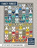 Fancy Forest Animal Sampler Quilt Pattern by Elizabeth Hartman EH-023
