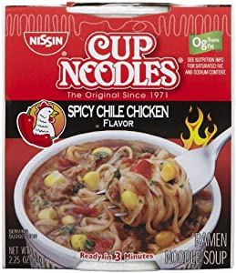 Nissin Cup Noodles Spicy Chile Chicken 225 Oz 12 Ct from C&S Wholesale