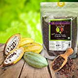 Divine Organics, 2Lb / 32oz Raw Cacao / Cocoa Nibs - Certified Organic - Premium Rio Arriba - Smoothies, Baking, Snacks, Salads, Trail Mixes - Chocolate Chips Substitute - Rich in Magnesium