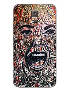 Samsung S5 Covers & Cases - Ecstatic Girl - Designer Printed Hard Shell Case