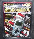 Electronic e-Backgammon Handheld Game