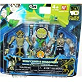 Ben 10 Alien Creation Chamber Mini Figure 2-Pack Benvicktor and Benmummy
