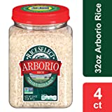 RiceSelect Arborio Rice, 32 oz Jars (Pack of 4) (Tamaño: 32 Ounce (4 Count))