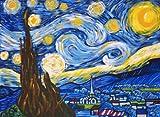 Van Gogh A STARRY NIGHT Acrylic Painting Kit