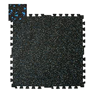 Buy RB Rubber Products Zip-Tile 28.5x28.5x3 8 Blue Flec Sold Per EACH by RB Rubber Products