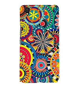 Ethic pattern Back Case Cover for One Plus X::One + X