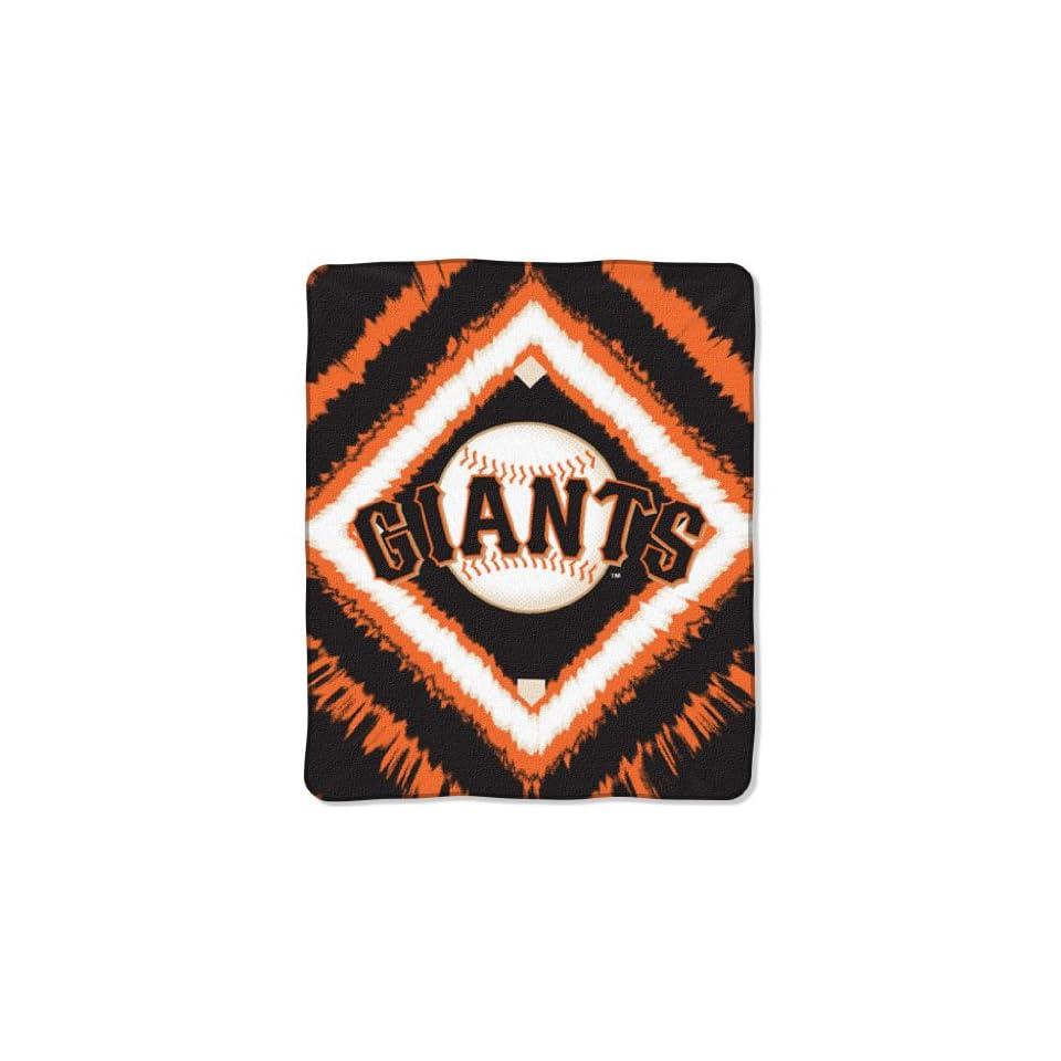 San Francisco Giants MLB Style 50x 60 Imprint Micro Raschel Blanket/Throw   MLB Baseball