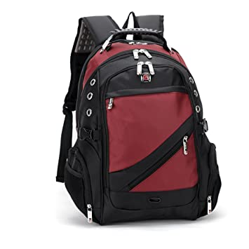 9f2f60dc73cd CLELO Waterproof Laptop Backpack School Bag – Fits Up To 15.6-Inch Laptops  Ethnotek s India 8 Raja Pack 46L Thread™ attaches to the main pack by  Velcro and