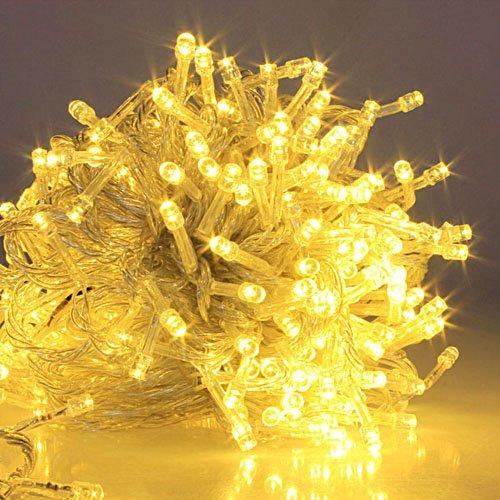 20M Warmweiss 200 LED Lichterkette Strip Streifen Party Weihnachten Au?en Innen Weinachts Beleuchtung