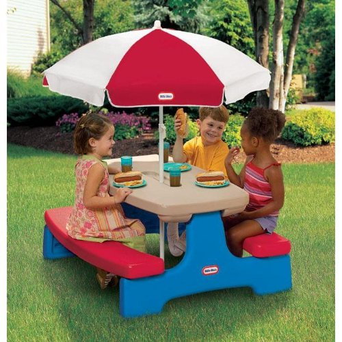 Permalink to little tikes fold and store picnic table manual