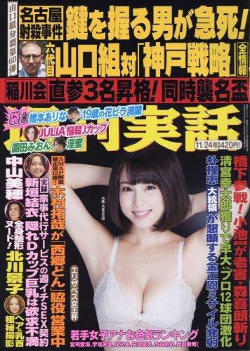 週刊実話 2016年 11/24 号 [雑誌]