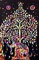 Polyester Hippie Tapestry Beach Throw Roundie Mandala Towel Yoga Mat Bohemian