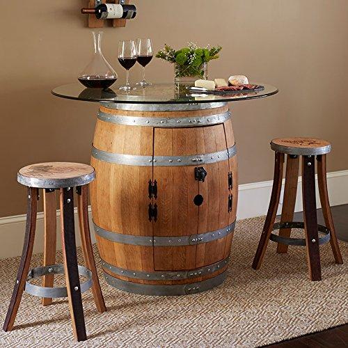 Cool Wine Barrel Pub Table 2 Stave Pub Stools Set 17440 Download Free Architecture Designs Scobabritishbridgeorg