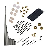 Dovewill Alto Sax Repair Kit Sax Saxophone Springs+Screws+Key Buttons for Beginners