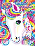 img - for Lisa Frank Super Size Coloring and Activity Book-Rainbow Majesty book / textbook / text book