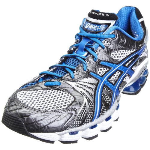 ASICS Men's Gel Kinsei 3 M White/Blue/Black Trainer T937N0159 14 UK