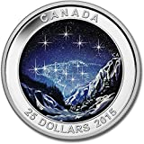2015 1oz Silver Star Charts (The Eternal Pursuit)  Royal Canadian Mint Uncirculated