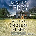 Where Secrets Sleep (       UNABRIDGED) by Marta Perry Narrated by Meredith Mitchell