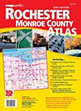 img - for Rochester & Monroe County NY Atlas book / textbook / text book