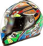 Suomy Halo Streetbike Racing Motorcycle Helmet, Pinball, X-Large