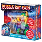 Light Up LED Bubble Ray Gun - Battery...