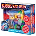 Light Up LED Bubble Ray Gun - Battery Operated Bubbles Blower