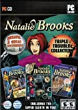 Natalie Brooks: Triple Trouble Collection - Treasures Of The Lost Kingdom / Mystery At Hillcrest High / Secrets Of The Treasure House