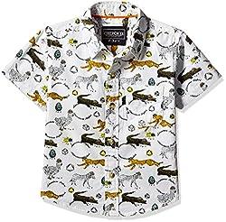 Cherokee Boys' Shirt (267982074_Off-White_2 - 3 years)
