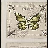 Cojín Vintage con Mariposas