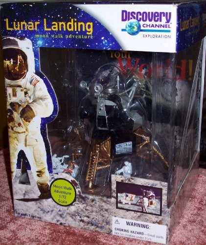 Discovery Channel LUNAR LANDING Moon walk adventure 1/72 Scale
