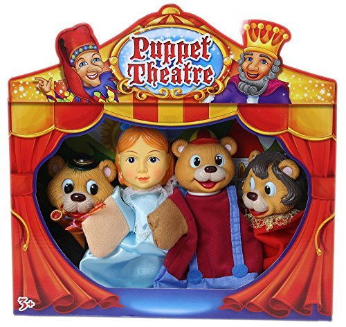 Childrens Puppet Theatre ~ Goldilocks And The Three Bears by Carousel