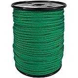 PP Seil Polypropylenseil SH 3mm 100m Farbe Grün (0117) Geflochten