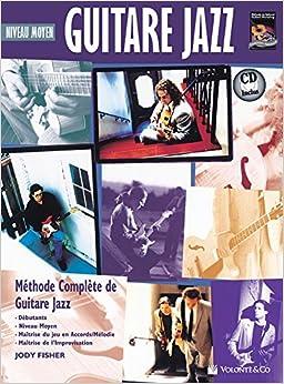Jody fisher intermediate jazz guitar cd