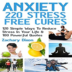 Anxiety - 220 Stress Free Cures Audiobook