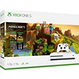 Xbox One S 1TB/2TB Minecraft Creators Bonus Bundle, Customize up to 1TB/2TB HDD, and 1TB SSD, Xbox Wireless Controller, Minecraft Starter Pack, Minecraft Creators Pack