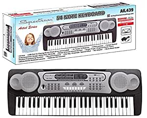 Spectrum AIL 439 54-Note Electric Keyboard