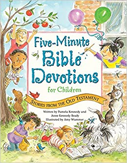Five minute bible devotions for children stories from the old