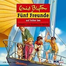 Fünf Freunde auf hoher See (Fünf Freunde 54) Hörbuch von Enid Blyton Gesprochen von: Rosemarie Fendel